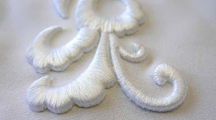 3D вышивка
