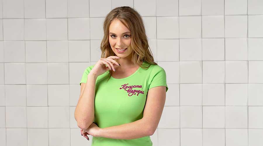 Женские футболки для вышивки логотипа