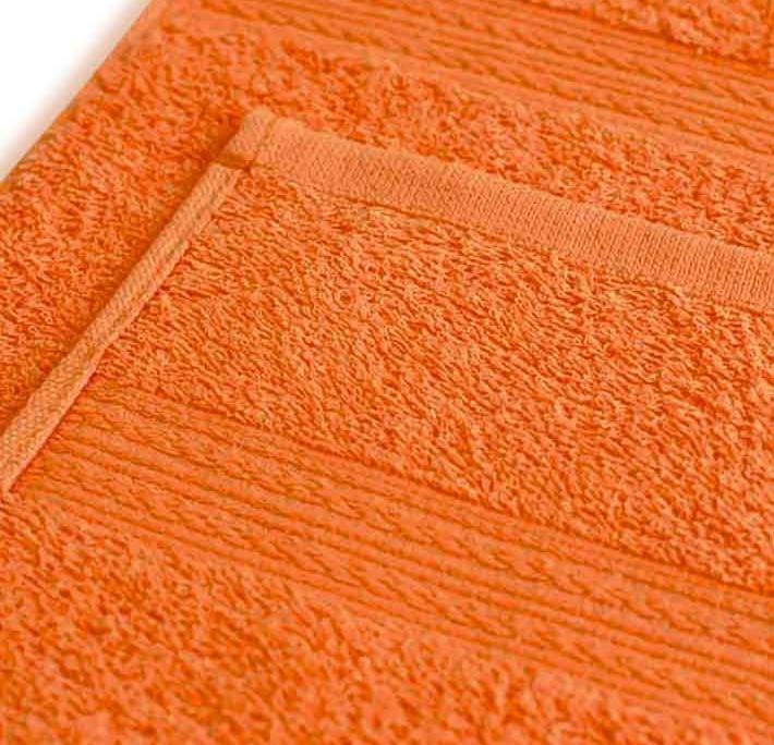 Полотенце под вышивку оранжевое