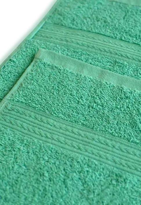 Полотенце под вышивку светло-зеленое