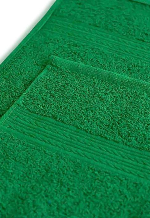 Полотенце под вышивку ярко-зеленое