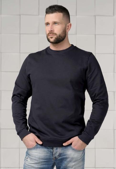 Толстовка для вышивки черная