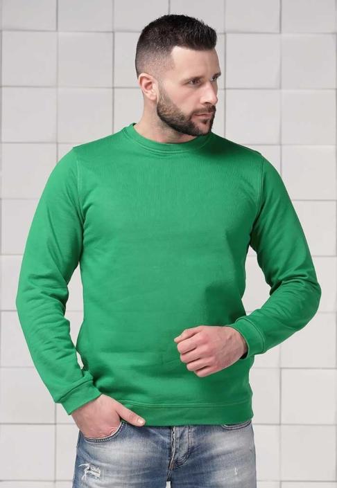 Толстовка для вышивки зеленая