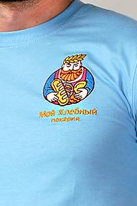 Вышивка на футболках