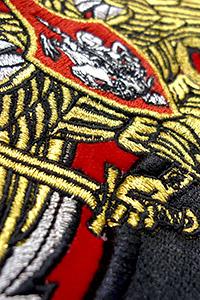 Вышивка на гербах