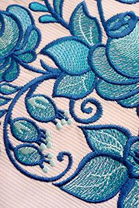 Вышивка на крое (трикотаж)