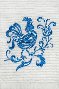 Вышивка на кухонных полотенцах
