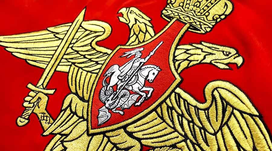 Вышивка гербов и символов