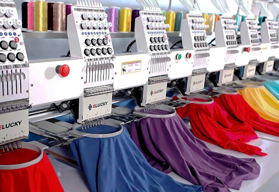 Машинная вышивка на одежде